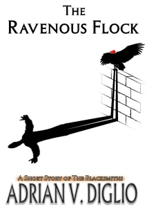 The Ravenous Flock new cover